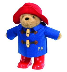 Paddington Blue Coat with boots 22cm